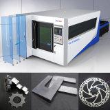 Equipamento óptico de corte a laser de fibra de chapa metálica para aço inoxidável carbono