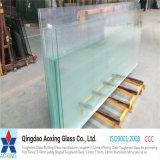 Borrar el vidrio endurecido para el vidrio del edificio con la certificación