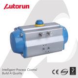 Wenzhou 공급자 두 배 임시 4분의 1 회전 압축 공기를 넣은 액추에이터