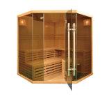 De houten Zalen van de Sauna van de Natte Stoom, de Nieuwe Zaal van de Sauna van de Generatie