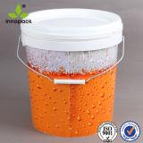 10L de plástico de 10kg el cubo de mezcla de hormigón de la cuchara