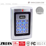 Металлические двери RFID в автономном режиме с подсветкой Kaypad контроля доступа