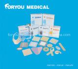 Fasciatura d'argento antibatterica adesiva medica dell'alginato del calcio dello ione Sad2002