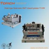 책상 PCB 인쇄를 위한 자동 장전식 땜납 풀 스크린 인쇄 기계