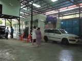 Machine de lavage automatique de voitures de Myanmar pour Yangon Carwash Business