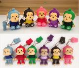 Cute Monkey USB 2.0 Flash Drive USB de 3D personalizadas