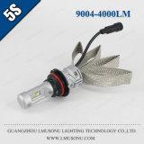 Lmusonu 5s 9004 LED 차 헤드라이트 고/저 광속 35W 4000lm 구리 벨트 열 분산