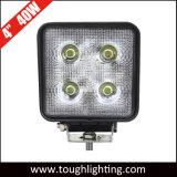 "Super Bright DC 12V 4"" 40W CREE LED carrés phares de travail"