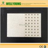 El panel acústico del yeso de la tarjeta perforada insonora comercial del techo