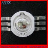 El 30% de descuento de 3W RGB LED de alta potencia con RoHS y 2 años de garantía (HH-3PM6RGB12T)