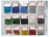La couleur des perles de verre pour la Piscine de galets