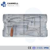 Conjunto toracolumbar posterior del instrumento de la fijación de Canwell Canfix, conjunto del instrumento quirúrgico