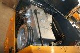 Compresor vibratorio Yzc2 del rodillo de camino del tambor del doble del motor diesel mini