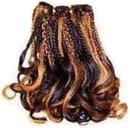 Tessuto dei capelli umani di 100% (FJS-02)