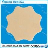 Folha do gel do silicone da redução da cicatriz