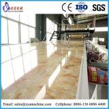 2440*1220mm de PVC marbre artificiel d'administration de ligne de production