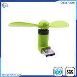 Customzied Farbe beweglicher Mini-USB-Ventilator für Computer PC