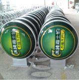 Kundengebundener heller acrylsauerkasten (KLVFLB-Ellipse)