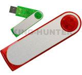Varas relativas à promoção da movimentação do flash do USB do giro com logotipo da impressão de cor