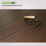 Tablier de bois composite en plastique pour l'extérieur
