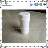 бутылка белого HDPE 60ml пластичная с крышкой винта для упаковывать c витамина