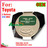 Interior remoto original para Toyota Corolla Camry com 2 teclas 315MHz