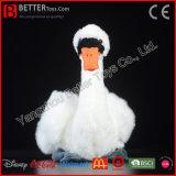 De levensechte Zachte Witte Zwaan van de Vogel van de Pluche Speelgoed Gevulde voor Jonge geitjes