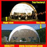 Удалите прозрачный белый ПВХ Королевского Godesic палатка