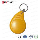 ABS impermeável Rewritable RFID Keyfob esperto para o controle de acesso