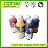 4 kleuren, Inkt de Op basis van water van de Sublimatie van 6 Kleuren voor Digitale TextielDruk