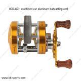 Maschinell bearbeitete Schnitt-Aluminiumköder-Gussteil-Fischen-Bandspulen 02D-Czh