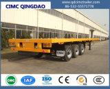 ' Semirimorchio a base piatta Cimc 40 con quattro telai del camion dell'asse