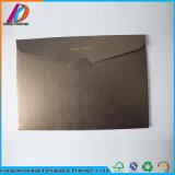 Impressão do envelope do papel da pérola do tamanho C5 com gravação do ouro
