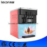 Leconの小型テーブルの上のコマーシャル3の味のソフトクリーム機械