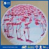 顧客用印刷された綿の円形のビーチタオル