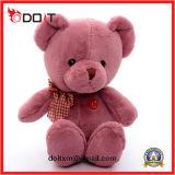 2018 새로운 En71 표준 분홍색 견면 벨벳 장난감 곰 3-8 년