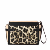 Ornamento de metal Charming Leopard Crossbody Bag (MBNO040018)