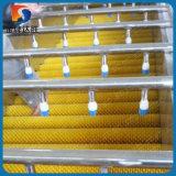 De zachte Nylon Roterende Schoonmakende Borstel van de Appel voor Industriële Wasmachine