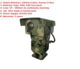 100mm de Thermische Weergave van het Gezoem van Contiously van de Lens 4X en de Camera van kabeltelevisie van IRL PTZ met 5km de Afstandsmeter van de Laser