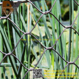 装飾的なステンレス鋼のフェルールケーブルの動物園動物の飼鳥園の鳥の網