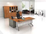 Het houten Uitvoerende Bureau van de Lijst van de Computer van het Been van het Metaal van het Kantoormeubilair