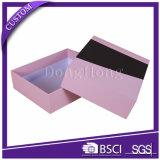 Vente en gros de empaquetage de cadre de logo de carton de chaussure faite sur commande de papier