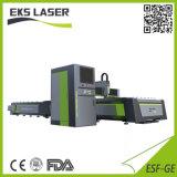 Высокая мощность металлический лист обработки установка лазерной резки с оптоволоконным кабелем с трубы на монетах комплексного