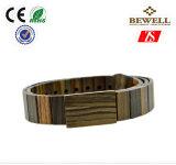 Correas de madera del hombre del sándalo de Bewell/de bambú de la manera