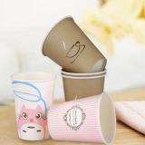 Tazas de papel impresas alta calidad para la consumición del café/del té