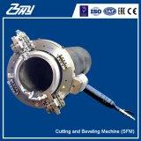"""2 """" - 84 """"를 위한 Od 거치된 휴대용 압축 공기를 넣은 균열 프레임 또는 관 절단 그리고 경사지는 기계 (60.3-2133.6mm)"""