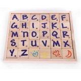 Деревянный младенец домина игрушки ягнится блоки алфавита образования