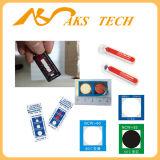 Pegamento termal auto-adhesivo de la temperatura alta del papel del cambio del color