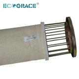 Пружинное стопорное Band сбора пыли ткань фильтра Nomex / PTFE мешок фильтра