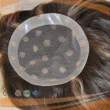 Deux faits saillants de couleur de base de la dentelle haut brésilien Cheveux (PPG-L-01500)